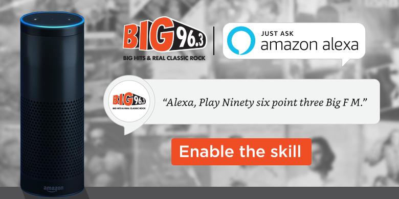 Alexa – 96.3 BIG FM